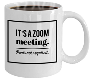 It's a zoom meeting